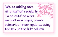 We're adding new info - please check back with us often.