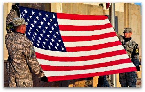 American flag etiquette sciox Choice Image