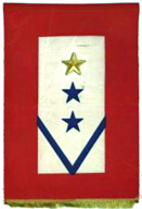 Service Banner showing both blue and gold stars