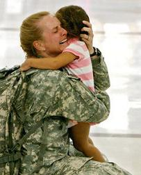 Mothers shouldn't lose their children because they serve