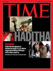 Haditha Marines Time Magazine Cover