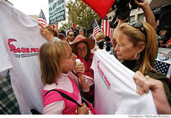 Melanie Morgan explains to Medea Benjamin that the real traitors are Code Pink