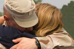 Military spouses have the toughest job in the military.
