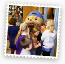 Sammy Rabbit teaches kids money management at Hill AFB.