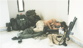 Soldiers Twas The Night Before Christmas