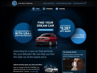 USAA Auto Circle makes it easier to find your dream car, for the best price.