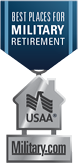 USAA announces 10 best places to retire for military families.