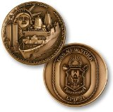 USS New York Challenge Coin