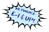We finance E-1 and Up!