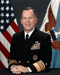 Admiral Mike Mullen, Chairman, JCS