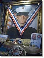 Marine Corporal Jason Dunham, Medal of Honor recipient.