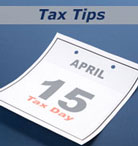 April 15 is your income tax filing deadline.