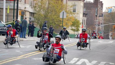 Wounded Warriors Participate in NYC Marathon