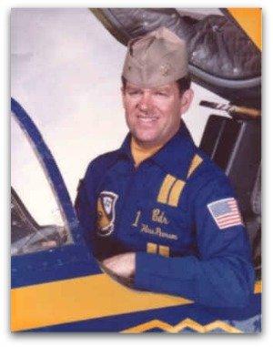 Navy Capt. Hoss Pearson, Blue Angel #1, 1984-85