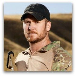 Navy CPO Chris Kyle, SEAL, the Deadliest American Sniper in history.