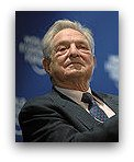 George Soros. Copyright by World Economic Forum. swiss-image.ch/Photo by Sebastian Derungs.