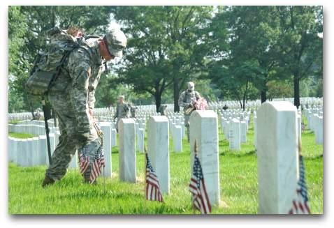 Memorial Day at Arlington National Cemetery