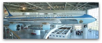 Air Force One exhibit at the Ronald Reagan Presidential Library and Museum in Simi Valley, CA.