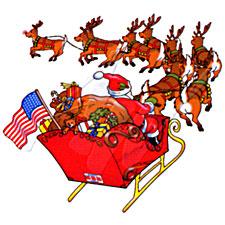 NORAD tracking Santa 2009