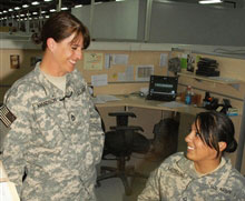 Sergeant First Class Angela Amundson