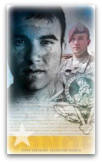 Army SSG Salvatore Giunta is awarded the Medal of Honor.
